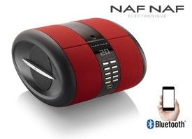 NAF NAF DNI068RED bluetooth speaker