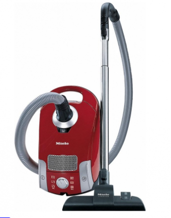 Miele Compact C1 EcoLine - Stofzuiger - Rood