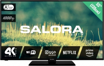 Salora 55EUS2204 tv 139 cm (55'') 4K Ultra HD Smart TV Wi-Fi Zwart